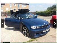 BMW 318ci Convertible E46 Face Lift ( Low Millage ) (Not,Audi,SKoda,Modified)