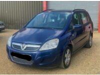 Vauxhall, ZAFIRA, MPV, 2008, Manual, 1598 (cc), 5 doors