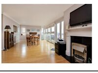 4/5 bedroom Penthouse with incredible views of Arran and beach.