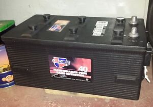 12V Deep Cycle Battery for RV or Off the Grid