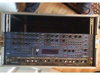 novation supernova II rack mount polyphonic synthesizer, synth , rack rack mount studio