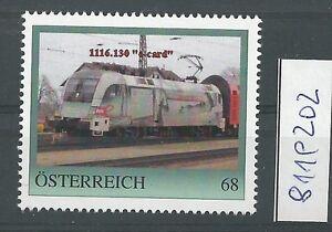 Osterreich-PM-personalisierte-Marke-Eisenbahn-034-LOK-1116-130-034