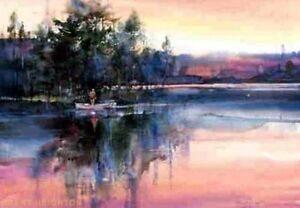 """Rising"" - by Canadian Artist: Brent Heighton Peterborough Peterborough Area image 2"