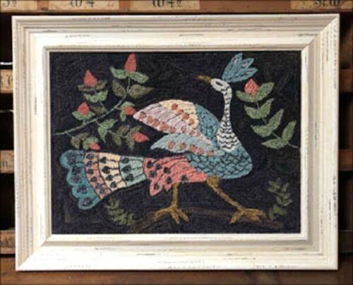 One Glorious Bird Punch Needle~Kathy Barrick