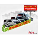 2- 18x24 Custom Car Magnets Magnetic Auto Truck Sign