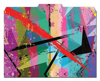 File-n Style Folders - Grunge - Cool School Studios - Set Of 12