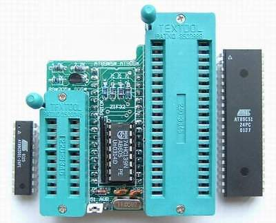 New 51 Avrplcc44 Adapter For Willem Eprom Programmer 89c52 89c51 89s52-u19