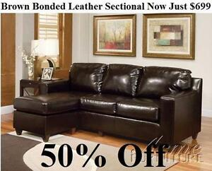 NEW -- 65% OFF SECTIONALS