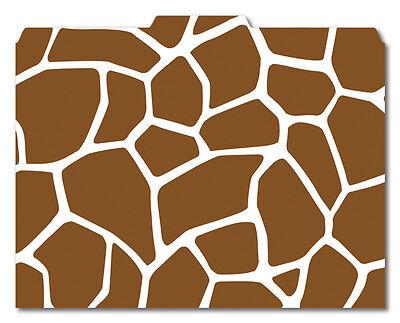 File-n Style Folders - Giraffe Print - Cool School Studios - Set Of 12