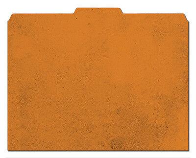 File-n Style Folders - Rustic Orange Print - Cool School Studios - Set Of 12