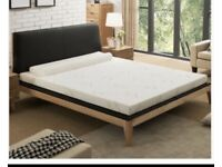 NOFFA Memory foam mattress topper. New in sealed box. Sofa bed/camper van