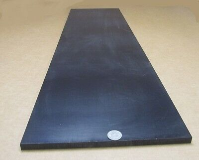"1//2/"" Tivar UHMW ESD Black Antistatic Sheet .500/"" Thick x 12/"" Wide x 12/"" Length"