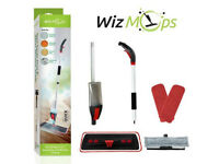 2 in 1 Spray Mop Kit with Window Cleaner | 2 x Reusable Microfibre Pad with 600ml Refillable b