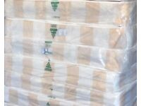 Bargain to clear, comfy cream 4ft6 double mattress. Free delivery