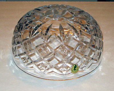 waterford CROSSWICKS crystal LAMP SHADE / Part NEW