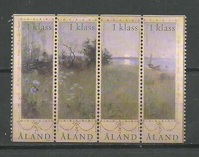 ALAND - Landscape Painting, Åland Islands stamp set 2003 MNH