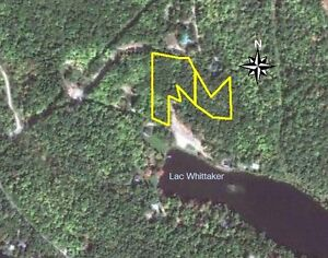 Land for sale, waterfront view in Outaouais