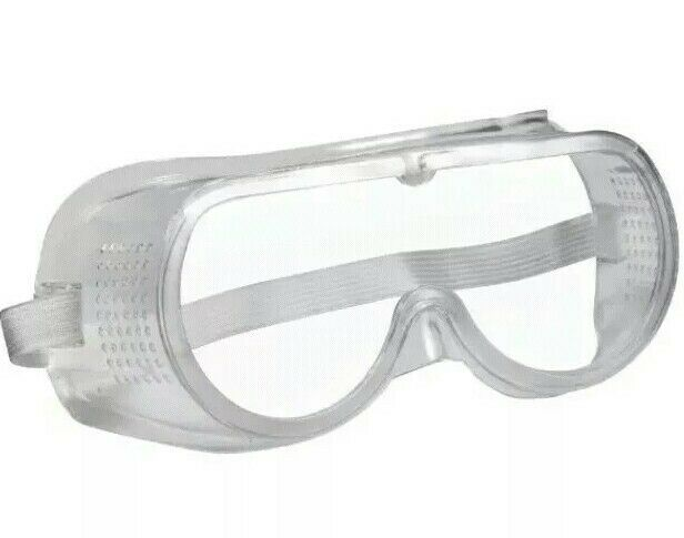 CHEAP Shatter Proof Acrylic Goggles Eye Protection PPE ~ IN STOCK FAST SHIP!