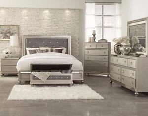 Charlotte 5 Piece Queen Bedroom Set Also Available In King Bed Night