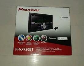 Pioneer FH-X720BT CAR RADIO