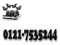 2 x cctv camera system