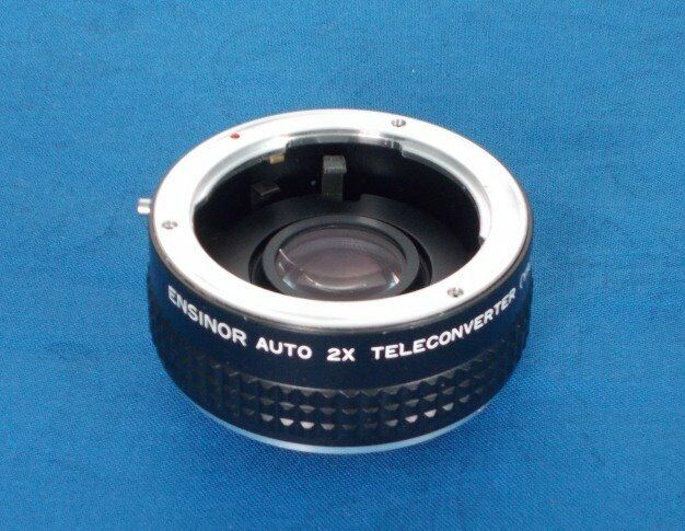 Ensinor 2x Tele Converter C/Y Contax Yashica in very good condition.