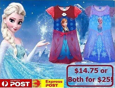 *SALE* DISNEY FROZEN DRESS Elsa Anna FANCY DRESS UP COSTUME or NIGHTIE *REDUCED - Elsa Costume Sale