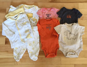 Lot of 3 months clothing / 3 mois 5$