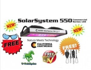 T&T Hydroponic: LED Solar System 550 - FREE SHIPPING