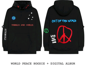 Astroworld world peace hoodie L