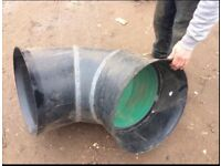 90 deg Drainage Bend 450mm