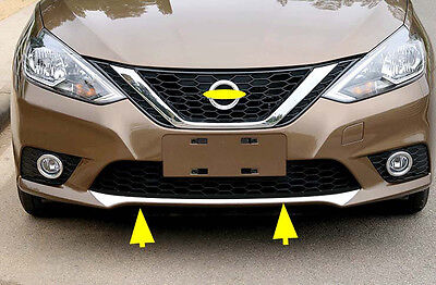 Front Fender Guard Protector Cover Trim for 2016 2018 Nissan Sentra Sylphy