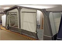 Full Size Caravan Awning - good condition, barely used
