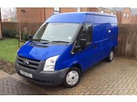 2008 FORD TRANSIT 2.2 LOW MILES HPI CLEAR EX BT IMMACULATE 1 PREVIOUS OWNER