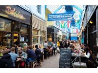 Experienced grill chef required for a busy in the heart of Brixton Village
