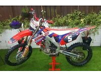 2012 HONDA CRF 450 EFI TRICKED EX RACE BIKE , SWAP FARM QUAD KVF KFX GRIZZLY AUTO