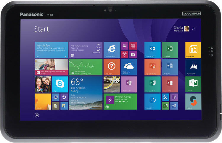 "Toughpad FZ-Q1C200XBM 12.5"" semi-rugged tablet 8GB 128GB Win8.1 Pro with STYLUS"