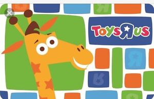 Looking For Toys R Us Gift Card - Large Amount Prefered