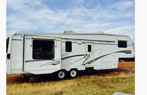 1999 newly renovated 5th wheel trailer