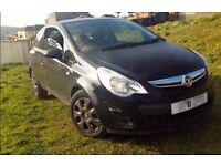 Vauxhall Corsa Exclusiv 1.4 Automatic (AC) 3Dr Black Hatchback