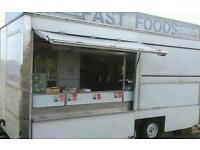 Snack Van & pitch for sale. Catering trailer and pitch for sale