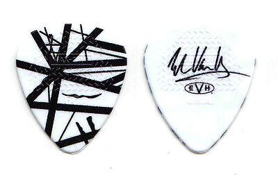 Eddie Van Halen Signature White/Black Frankenstrat Guitar Pick - 2015 Tour
