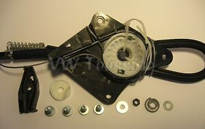VW Beetle Convertible / Cabriolet - Left Rear Window Lifter Regulator Repair Kit