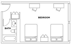 Furnished FEMALE Student Room - September 1  (with INCENTIVE)
