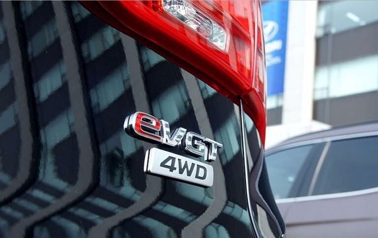 HYUNDAI Genuine 863402W000 Trunk 4WD Emblem Badge for Santa Fe 2013+