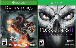 Darksiders 1 and 2 Remastered games (XBOX One) $20 each
