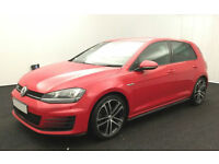 VOLKSWAGEN GOLF 1.4 TSI MATCH SE 1.6 1.9 2.0 TDI SPORT GTD GTI FROM £67 PER WEEK