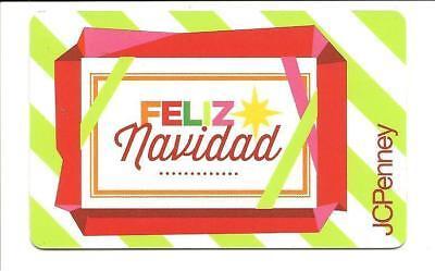 Feliz Navidad Gift Card (JC Penney Feliz Navidad Gift Card No $ Value)