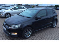 VOLKSWAGEN POLO 1.2 TDI SE  MATCH S 1.4 TSI 1.6 TDI R LINE FROM £36 PER WEEK!