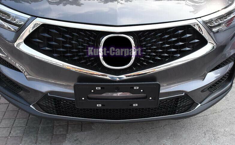 Front bumper bottom Bright strip Trim For 2019 2020 2021 ...
